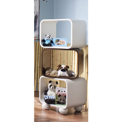 Natart Panda Swivel Bookcase