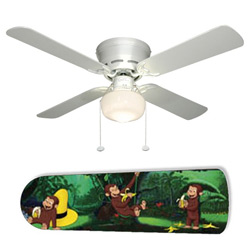 Curious George 42 Ceiling Fan