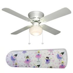 Little Girls Ballerinas Ceiling Fan
