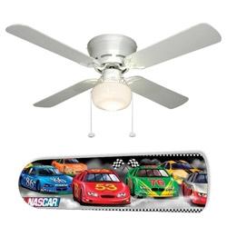 NASCAR Race Car 42 Ceiling Fan