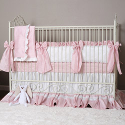 Olena Boyko Angelica Grace Crib Bedding Set