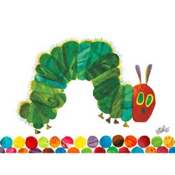 The Very Hungry Caterpillar Stretched Art
