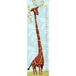 Oopsy Daisy/No Boundaries Gillespie the Giraffe Growth Chart- Blue