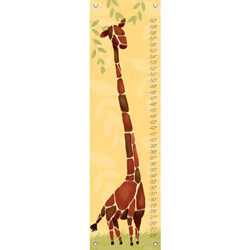 Oopsy Daisy/No Boundaries Gillespie the Giraffe Growth Chart- Yellow