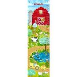 Oopsy Daisy/No Boundaries Farm Friends Growth Chart