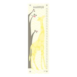 Oopsy Daisy/No Boundaries Modern Giraffe Growth Chart