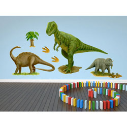 Oopsy Daisy/No Boundaries Prehistoric Pals Wall Decal
