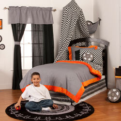 Teyo's Tires Twin/Full Bedding Set