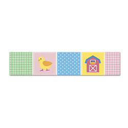 Olive Kids Country Baby Wall Border