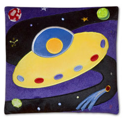 Olive Kids Out of This World Plush Pillow