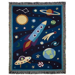 Olive Kids Out of This World Throw