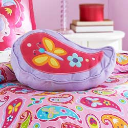 Olive Kids Paisely Dreams Shaped Plush Pillow