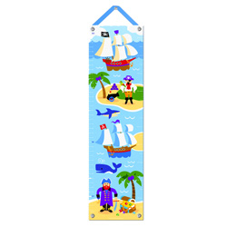 Olive Kids Pirates Growth Chart