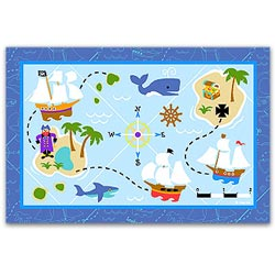 Olive Kids Pirates Rug