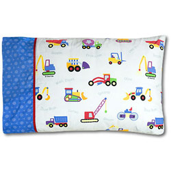 Olive Kids Under Construction Pillowcase