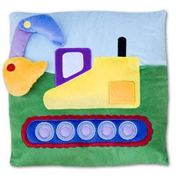 Under Construction Plush Pillow