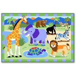 Wild Animals Rug