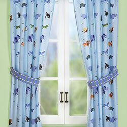 Olive Kids Wild Animals Drapes