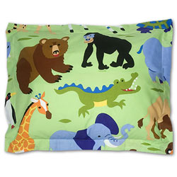 Olive Kids Wild Animals Sham