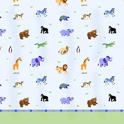 Olive Kids Wild Animals Twin Sheet Set