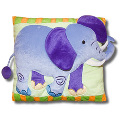 Olive Kids Wild Animals Plush Pillow