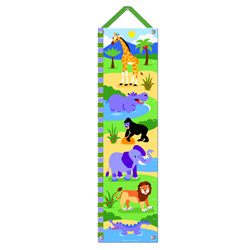 Olive Kids Wild Animals Growth Chart