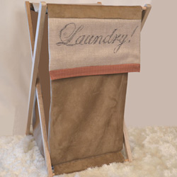 French Farmhouse Oliver Laundry Hamper