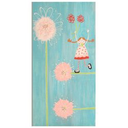 Lily Flower Canvas Wall Art