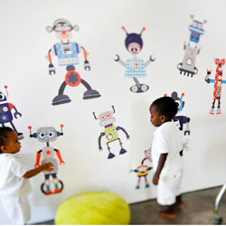 Build a Bot Wall Decal