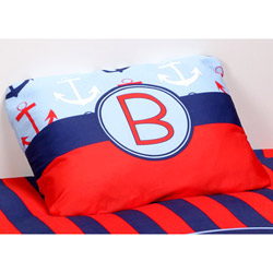 Personalized Anchors Pillowcase