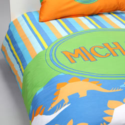 Personalized Dino Duvet