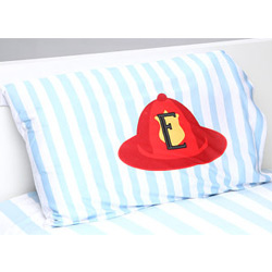 Personalized Fire Truck Pillowcase