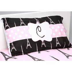Personalized Paris Posh Pillowcase
