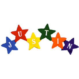 Personalized Star Flows Wall Hanging