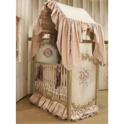 Camelot Crib Canopy and Topper