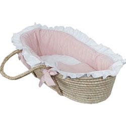 Hoohobbers Doll Moses Basket