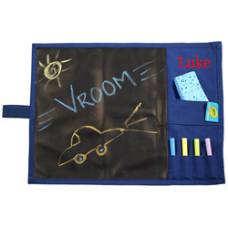 Color with Me Chalk Board Placemat