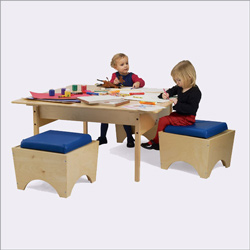 Whitney Brothers Childrens Play Table
