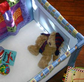 Baby Doll Fleece Playard Sheets