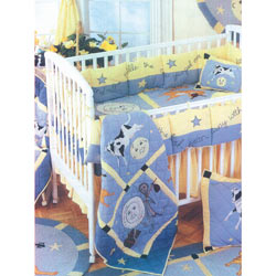 Patch Magic Group Hey Diddle Diddle Crib Bedding