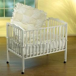 Baby Doll Waffle Fleece Porta Crib Bedding