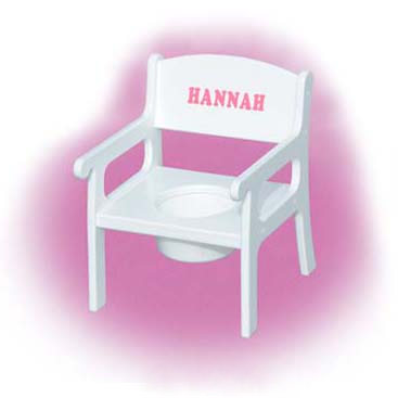 Personalized Potty Chair