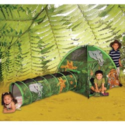 African Adventure Tent and Tunnel Combo