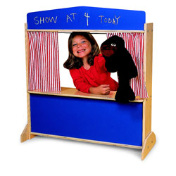Whitney Brothers Deluxe Puppet Theater