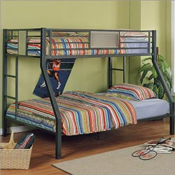 Powell Company Monster Bedroom Twin over Full Bunk Bed