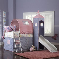 Powell Company Princess Castle Bunk Bed