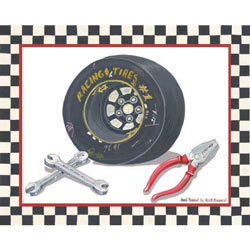 Art4Kids/Creative Images Race Car Gear II Wall Art
