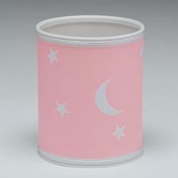 Moon and Stars Wastebasket