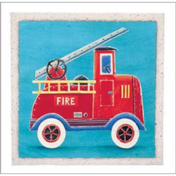 Art4Kids/Creative Images Fire Engine Artwork