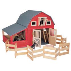 Red Gable Barn